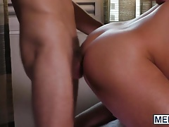Lucky twink boy has a real slutty gay friend who loves anal