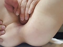 Young Horny Boy Self Fuck