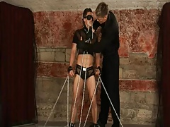 BDSM bound boy will jerked and fucked schwule jungs